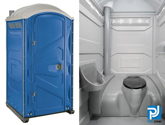 Standard Portable Toilet Rental Unit
